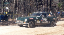 MGB-GT Rally Car